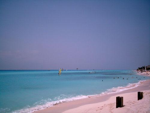 Beautiful Beaches of Playa Del Carmen in Mayan Riviera Mexico