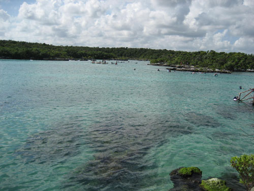 Relaxing Natural Water Park In Mayan Riviera , Mexico