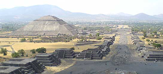 Impressive Pyramid At The Tour Of Teotihuacan Ruins