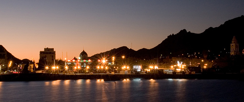 Enjoying The Nightlife & Amazing City Of Guaymas Mexico