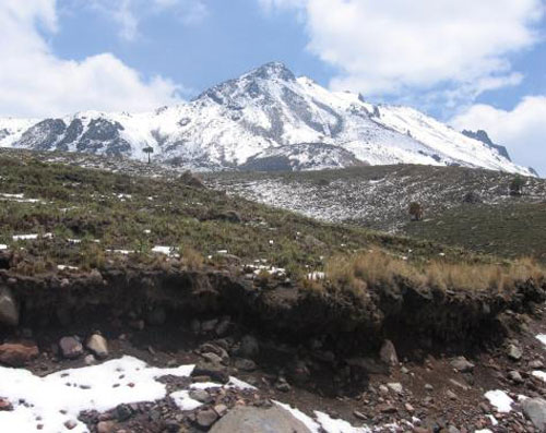 Beautiful & Unique Peak Of Nevado De Toluca National Park In Central Mexico