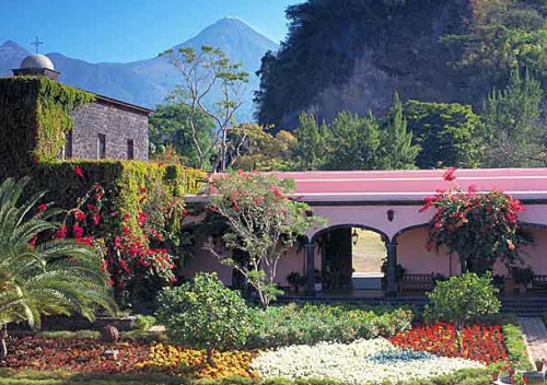 Wonderful View Of Landscape In Hacienda de San Antonio