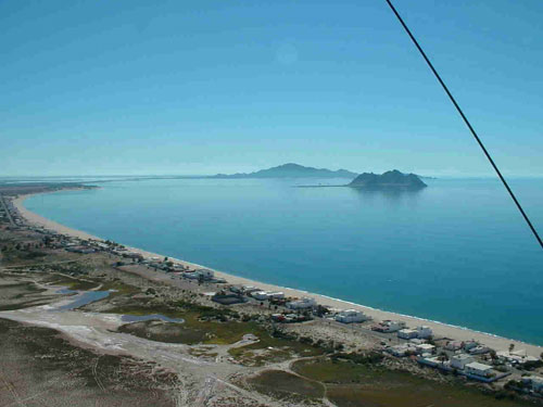 The Perfect White Sand Beach & Turquoise Sea Of Bahia De Kino Bay In Sonora, Mexico