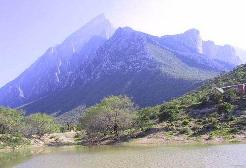 Beautiful Canyon Of La Huasteca In Monterrey