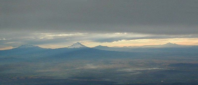Mexicos volcanos with Malinche among them (photo courtesy of Wikimedia)