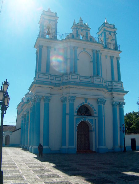 The Church of Santa Lucia (photo by Agguizar courtesy of Wikimedia)