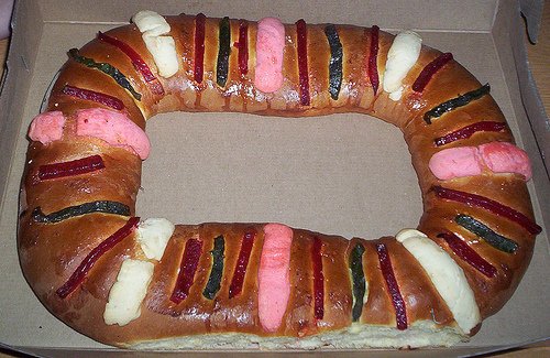 Rosca de Reyes (photo by David Rojo courtesy of Flickr)