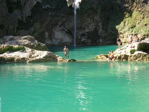 A Calm & Relaxing Cascada el Salto Stream in Huasteca Potosina San Luis Potosi