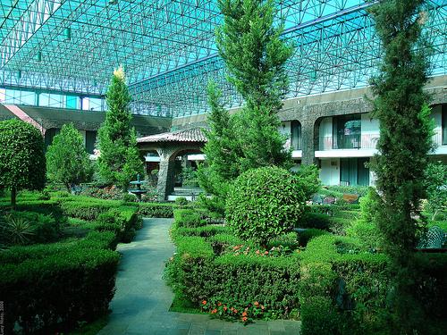 Inspiring Natural Beauty In A Greenery Sorroundings Of Hotel Del Rey Inn