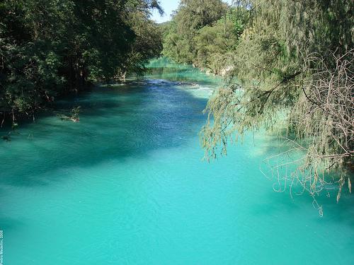Tranquil waters in Huasteca Potosina San Luis Potosi