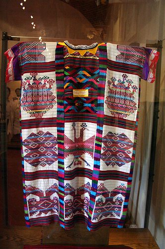 Huipiles: Gorgeous Examples of Authentic Mexican Embroidery - Ornate Oaxacan Huipil