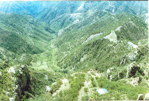Natural Scenery and Valley