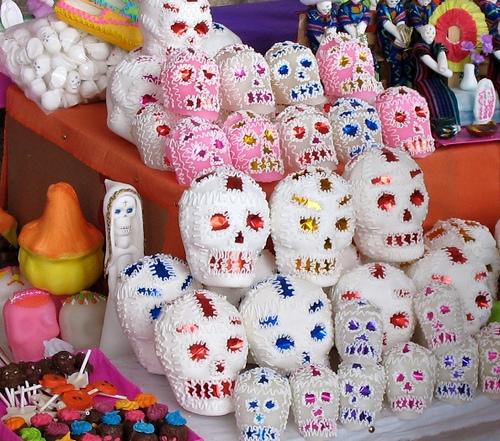 Amazing Sugar Skulls Craft At Morelia's Marketplace