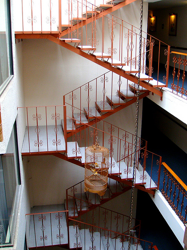 A pleasure climbing these stairs (photo by Lucy Nieto courtesy of Flickr)