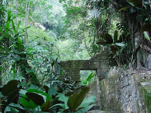 Enchanting structures at Las Pozas Park