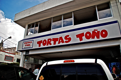 Tortas Tono In Mexico