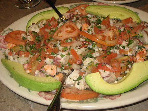 Mexico's Affordable & Healthy Plate of Ceviche