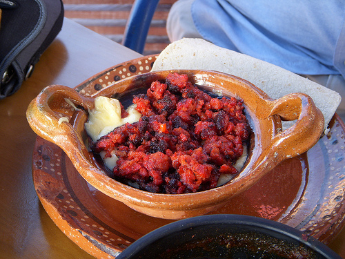 Chorizo and cheese from Chihuahua (CC photo by MCotner courtesy of Flickr)