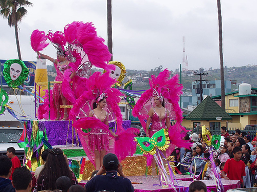 Enjoy The Bright Costumes, Music & Fun At Carnival In Ensenada