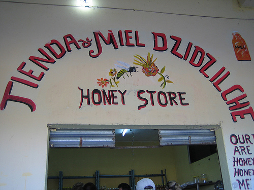 Sweet Mexican Honey In Famous Honey Store