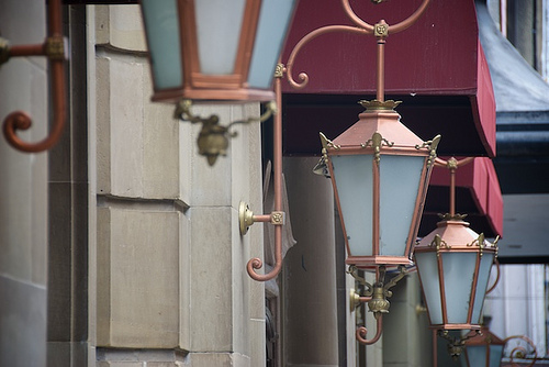 Lanterns at Ancira (CC photo by Kevin Lare courtesy of Flickr)