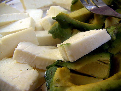 Delicious Mexican cheese and avocado (CC photo by A30_Tsitika courtesy of Flickr)