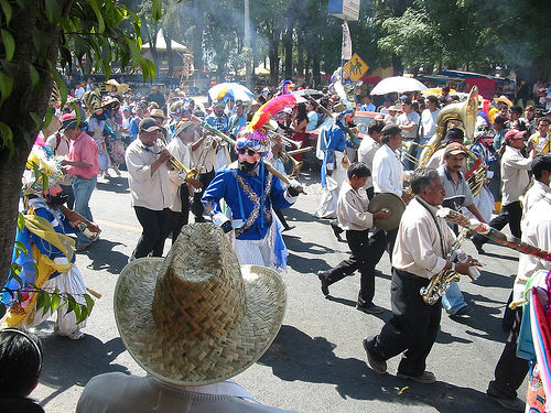 Carnival in Puebla (CC photo by courtesy of Flickr)