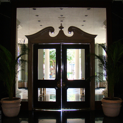 Gran Hotel Ancira Entrance