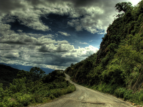 Road through Sierra Juarez (CC photo by phylevn courtesy of Flickr)