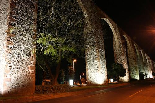 Breathtaking Arcos of Santiago De Queretaro, Mexico