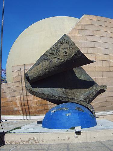 Impressive Sculpture of Columbus At The Tijuana Cultural Center