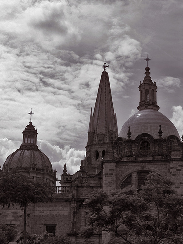 Historic Cathedral in Guadalajara