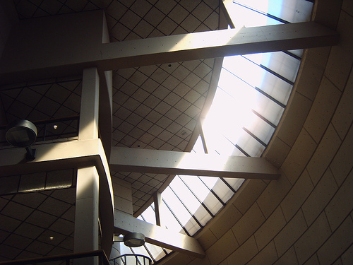 Interior of the center (CC photo by Willem van Bergen courtesy of Flickr)