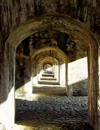 Arches at San Juan de Ulua