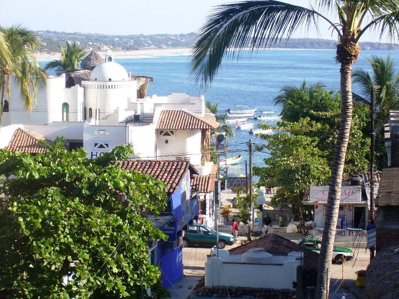 The Beautiful Hidden Port Of Puerto Escondido In Mexico